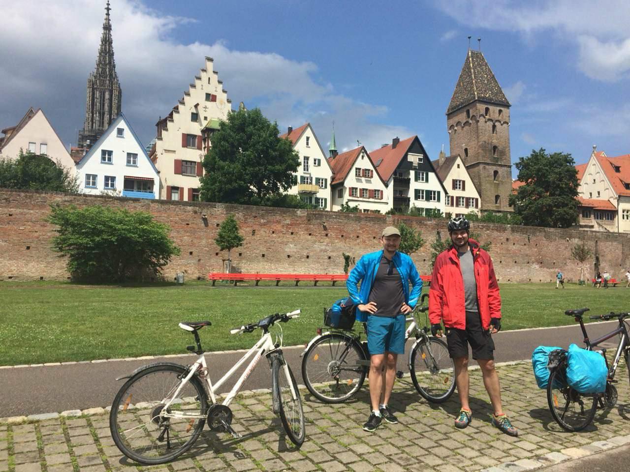 Велисипедна мандрівка 31.05.2018 – 03.06.2018 (Oberstdorf, Kempten)